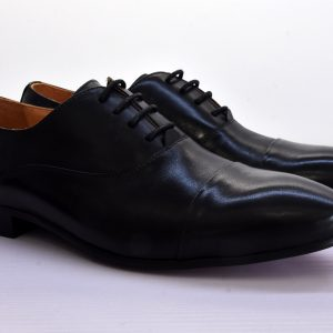 Lace Up Black Shoes