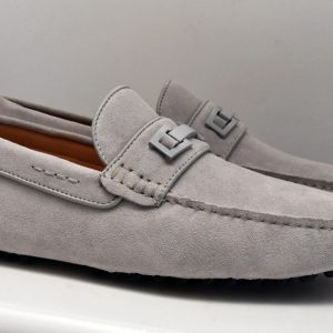 Gray Driver Shoes