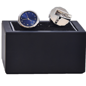 Cufflinks Clock Sterling Silver