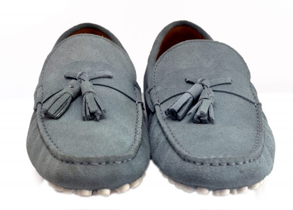 L.Blue Driver Shoes with Tassel