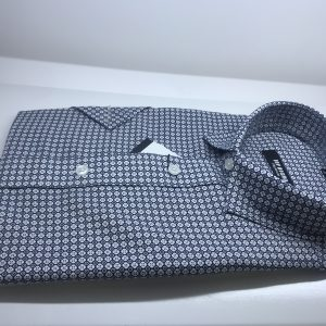 Short Sleeve Shirt blue Spot