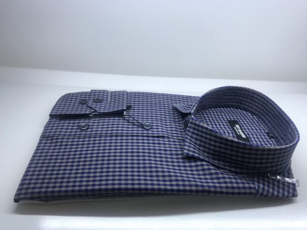 Long Sleeve Shirt Blue Stripe
