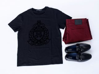 T-Shirt, Trouser and Shoe