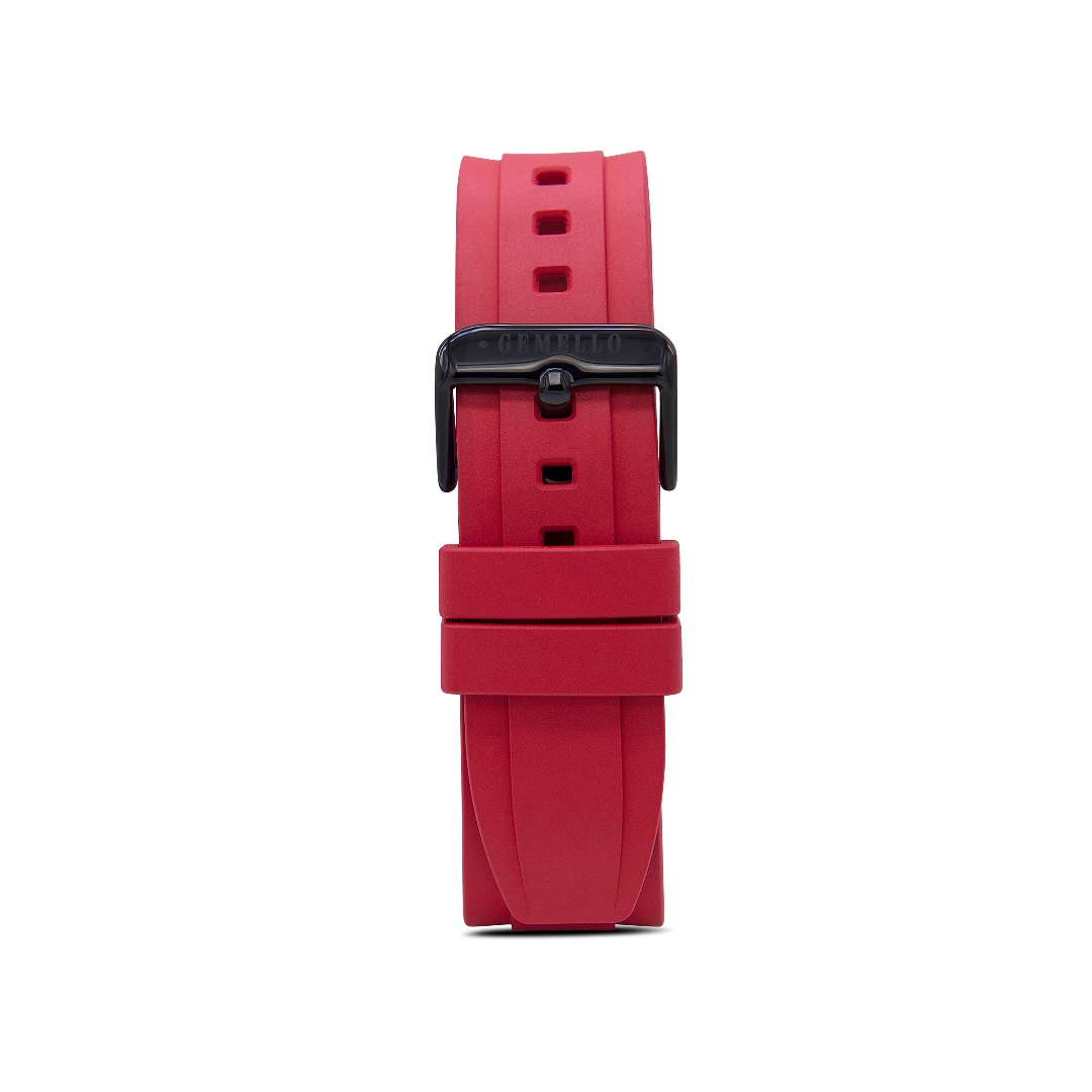 Red Silicon Interchangeable Strap