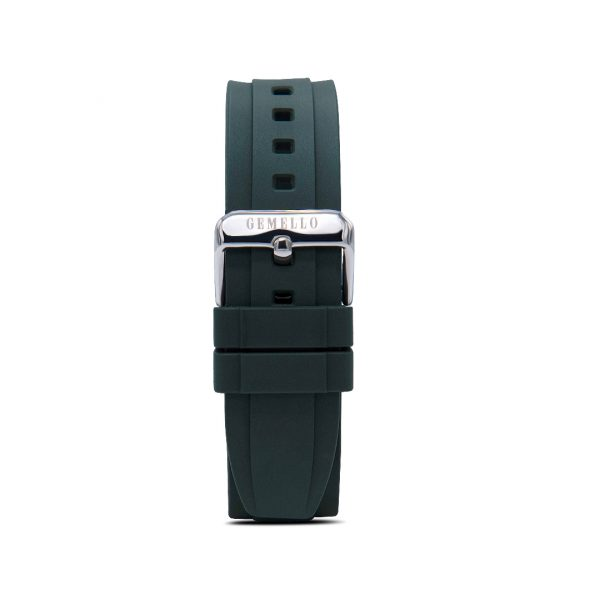 Green Silicon Interchangeable Strap